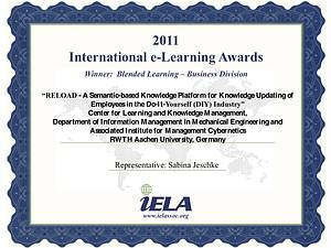 International e-Learning Award